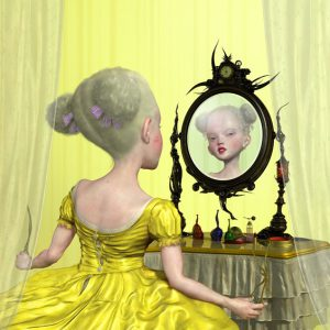 "<strong>Oh! Sweet Vanity</strong>, 2004<br>16 x 17""<br>Edition of 20"