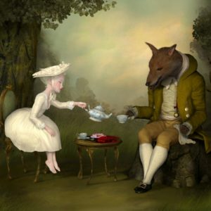 "<strong>Tea With Me and He</strong>, 2012<br>30 x 40""<br>Edition of 20"