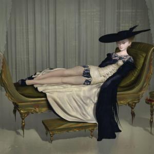 """Madame R, 2015, 40 x 30"""""""