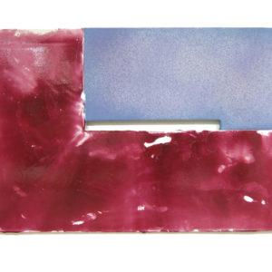 """<strong>burgundyblue (2010)</strong><br/> 32 X 48""""<br/> ACRYLIC ON CANVAS"""