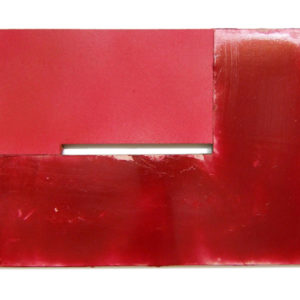 """<strong>candyapplered (2010)</strong><br/> 32 X 48""""<br/> ACRYLIC ON CANVAS"""