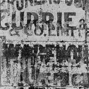 "<strong>Ghost Sign II</strong><br>14.7 x 22""<br>Platnium & Palladium"