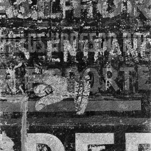"<strong>Ghost Sign III</strong><br>14.7 x 22""<br>Platnium & Palladium"