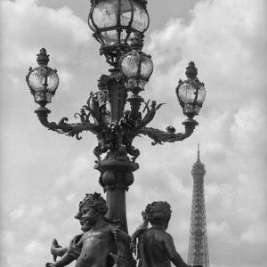 "<strong>Paris Pont Alexander</strong>, 2006<br>14.7 x 22""<br>Platnium & Palladium"