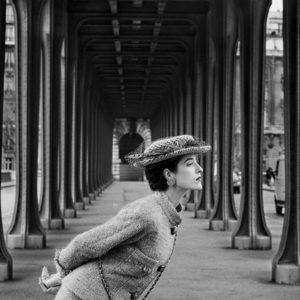 "<strong>Chanel</strong>,  2007<br>14.7 x 22""<br>Platnium & Palladium"