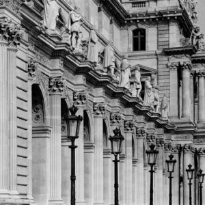"<strong>Paris Louvre I</strong>, 2010<br>14.7 x 22""<br>Platnium & Palladium"