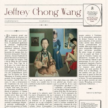 Jeffrey Chong Wang in Hey! Magazine