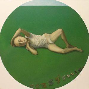 """Exodus, Oil on Canvas, 24x24"""""""