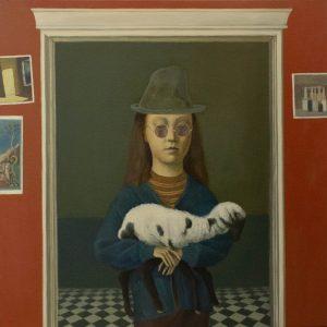 "Full House I, Oil on Canvas, 24 x 24"""