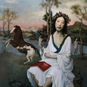 "Poet, 48 x 36"", Oil on Canvas"