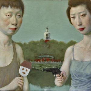 Assasin, Oil on Canvas
