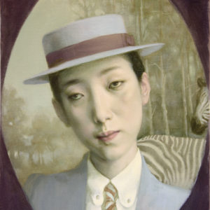 "Hunter, 14"" x 10"", Oil on Canvas"