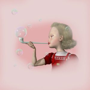 """<strong>Bubbles Study</strong>, 2014<br>12 x 12""""<br>Edition of 20"""