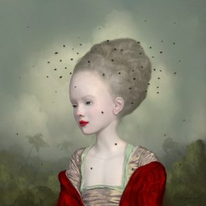 """<strong>Crown of Flies</strong>, 2012<br>20 x 20""""<br>Edition of 1"""