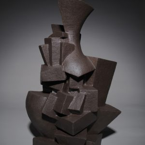 "<strong>Meta, 2010</strong><br/> 22.5 X 14""<br/> GLAZED EARTHENWARE"