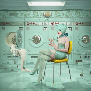 """Launderette, 2017, 38 x 34"""" Edition of 20"""