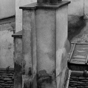 "<strong>Paris Chimney</strong>, 2005<br>15 x 22""<br>Platnium & Palladium"