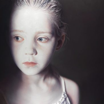 Gottfried Helnwein Paints the Lost Innocence
