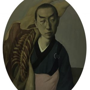 "Meat Monk, 20 x 16"" Oil on Canvas"