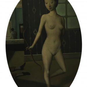 "The Archer, 24 x 16"", Oil on Canvas"