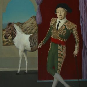 "Montserrat Dream, 30 x 24"", Oil on Canvas"