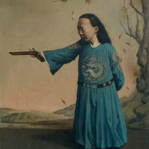 "The Autumn Sonata, 16 x 13"", Oil on Canvas"