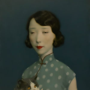 "Pet, 16x12"", Oil on Canvas"