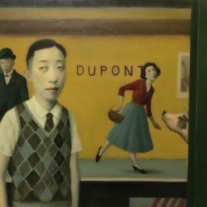 "Underground, 24x36"", Oil on Canvas"