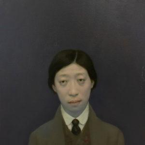 "Writer, 24x18"", Oil on Canvas"