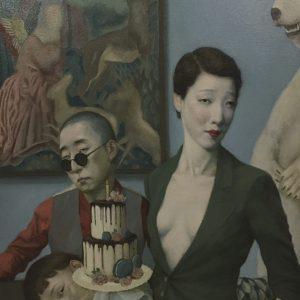 "Birthday, 2021, 36"" x 24"", Oil On Canvas"