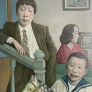 """Childrens Memory, 2021, 30"""" x 24"""", Oil On Canvas"""