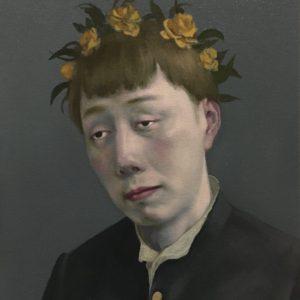 "Meditation, 2021, 16"" x 12"", Oil On Canvas"
