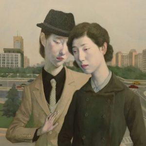 "Stroll, 2021, 24"" x 18"", Oil On Canvas"